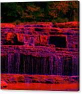 Red River Falls Canvas Print