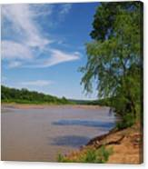 Red River Gainesville Texas East Canvas Print