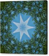 Red River Star Kaleidoscope 1 Canvas Print