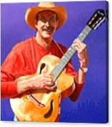 Red River Troubador Canvas Print