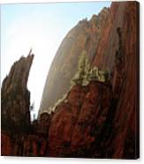 Red Rock At Zion Canvas Print