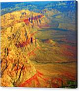Red Rock Canyon Nevada Vertical Image Canvas Print
