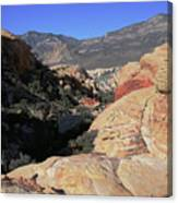 Red Rock Canyon Nv 7 Canvas Print