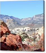 Red Rock Canyon Nv 8 Canvas Print
