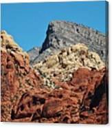 Red Rock Canyon Vista Nevada Canvas Print