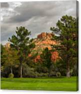 Red Rock Fairway Canvas Print