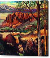 Red Rock Uplift Canvas Print