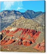 Red Rocks Nevada Canvas Print