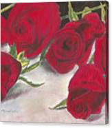 Red Rose Redux Canvas Print