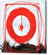 Red Scream Canvas Print