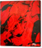 Red Series No. 1 Canvas Print