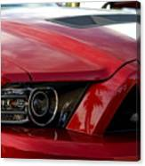 Red Shelby Canvas Print