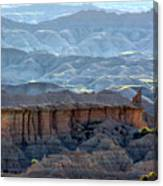 Red Shirt Formation Canvas Print