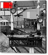 Red Signal Canvas Print