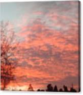 Red Skies Canvas Print