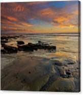Red Sky California Canvas Print