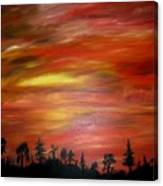 Red Sky Delight Canvas Print