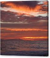 Red Sky II Canvas Print