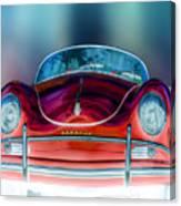 Red Speedster Canvas Print