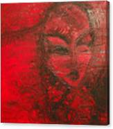 Red Stain Canvas Print