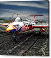 Red Star Viper United States Side Canvas Print