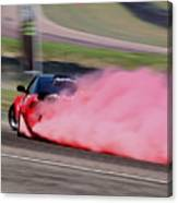 Red To Pink - Drifter Canvas Print