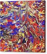 Red Toenails Canvas Print