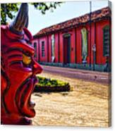Red Town Canvas Print