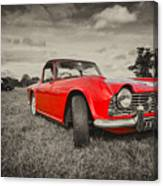 Red Tr4  Canvas Print