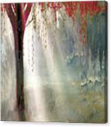 Red Tree 1  Canvas Print