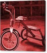 Red Trike Canvas Print