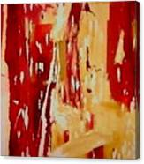 Red Visions Canvas Print