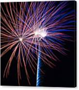 Red White And Boom Canvas Print