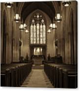 Redemption - Church Of Heavenly Rest #3 Canvas Print