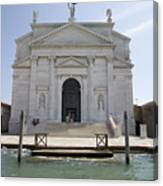 Redentore Church In Venice Canvas Print
