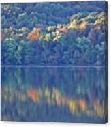 Rednor Lake Reflections - 1 Canvas Print