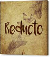 Reducto Canvas Print