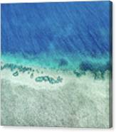 Reef Barrier Canvas Print