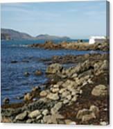 Reef Bay Boathouse Canvas Print