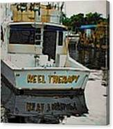Reel Therapy Canvas Print