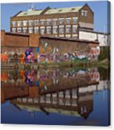 Refective Canal 2 Canvas Print