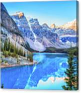 Reflect On Nature Canvas Print