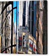 Reflected City Canvas Print