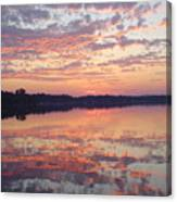 Reflected Sunrise Canvas Print