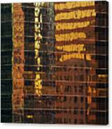 Reflecting Chicago Canvas Print