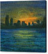 Reflecting Night Canvas Print
