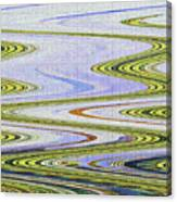 Reflection Abstract Abstract Canvas Print