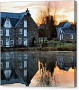Reflection At Wagner Mill Canvas Print
