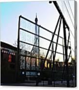 Reflection Eiffel Paris Canvas Print