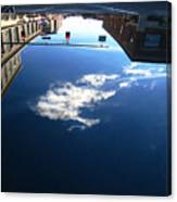 Reflection Glass Roof Canvas Print